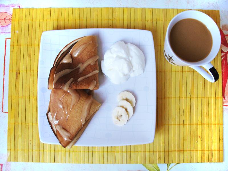Przepis na naleśniki bananowe z miodem