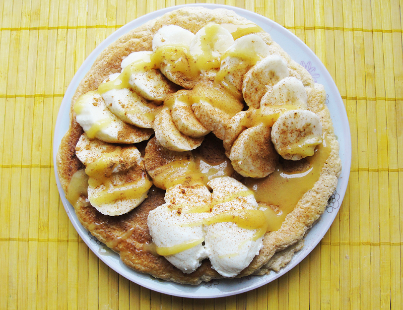 Przepis na: Puszysty omlet z bananami Portal Pszczelarski